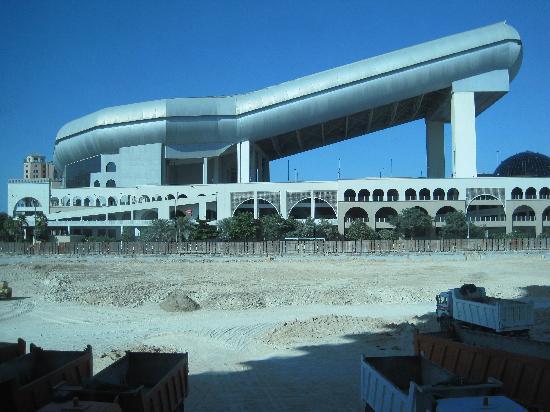 Dunes Hotel Apartments Barsha: view from view. that's ski dubai