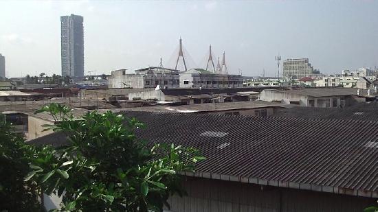 Yannawa Residence Bangkok: vue de l'appartement occupe