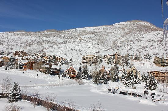 Holiday Inn Vail: View from the veranda