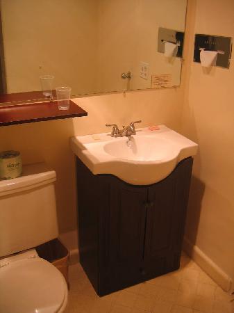 Travelers Inn Eugene : New bathroom sink