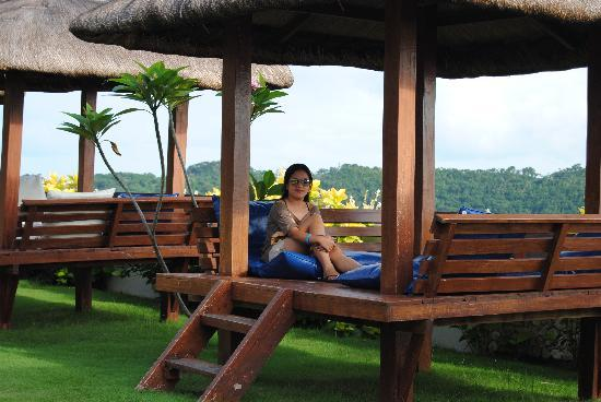 Grand Vista Boracay Resort & Spa: one of the cabanas