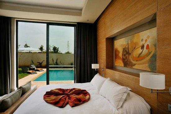Sirayane Boutique Hotel & Spa: suite de luxe avec piscine