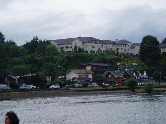 Hotel Cumbres Puerto Varas: Vista desde la habitacion