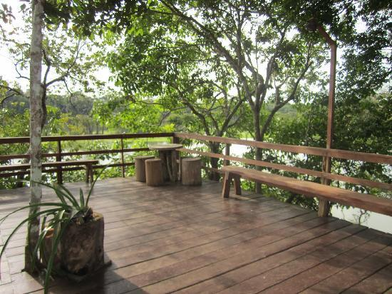 Juma Amazon Lodge: reception area