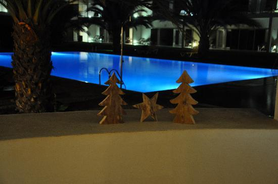 Hotel Dunas de Sal : Weihnachten am Pool :-)