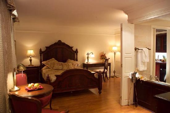 Hotel L'Oiseliere - Montmagny: Suite romantique
