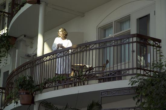 Hotel L'Oiseliere - Levis: Chambre avec balcon intérieur