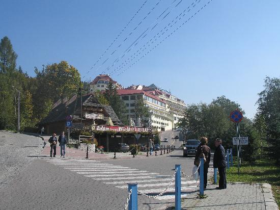 Hotel Golebiewski : Inmediaciones del hotel