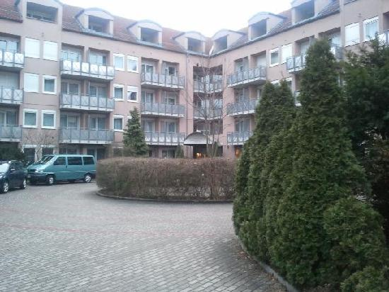 Appart Hotel Tassilo: Innenhof