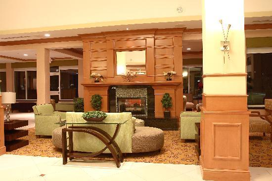 Hilton Garden Inn Chesapeake/Suffolk: Relax in our warm, inviting Lobby.