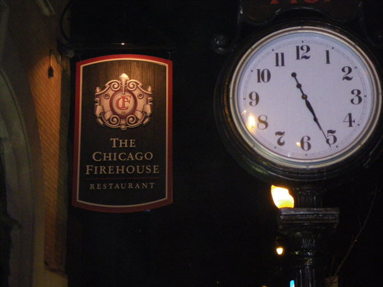 The Chicago Firehouse - REOPENED: Outside sign