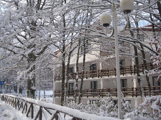 Laceno, Italia: Hotel Grisone - Gennaio 2011