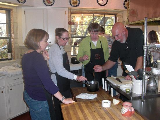 Blair House Inn: Chef is a great teacher