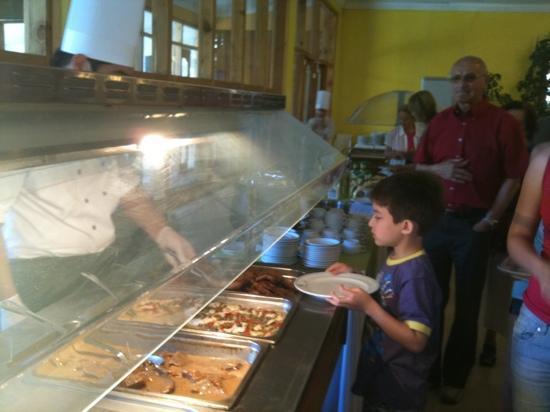 Colbun, Şili: variadas y ricas comidas
