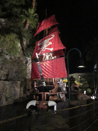 Treasure Island Pirate Ship Times