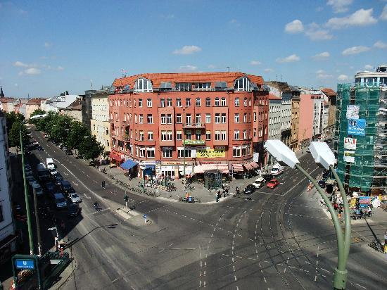 St. Oberholz Apartments: balcony view