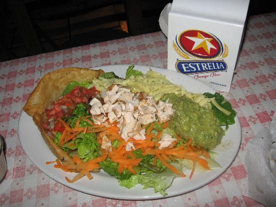 Fajita Banana: Taco Salad