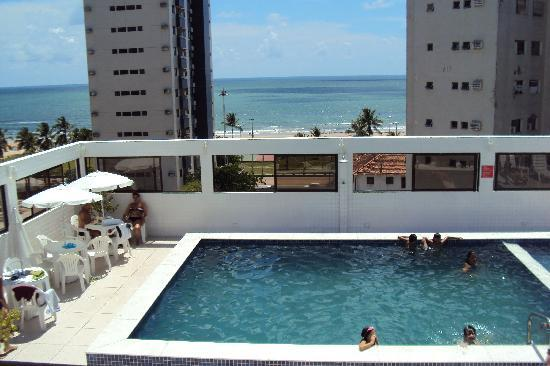 Hotel Manibu Recife: terraza