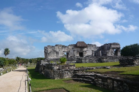 Ruiny Majów w Tulum: Before the crowds arrive