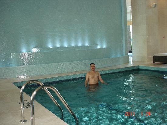 The Ritz-Carlton, Dubai International Financial Centre: Pool area