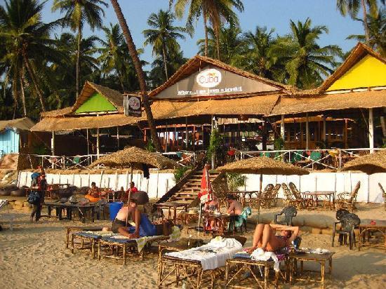 Cuba Premium Beach Huts: Cuba Goa Restaurant