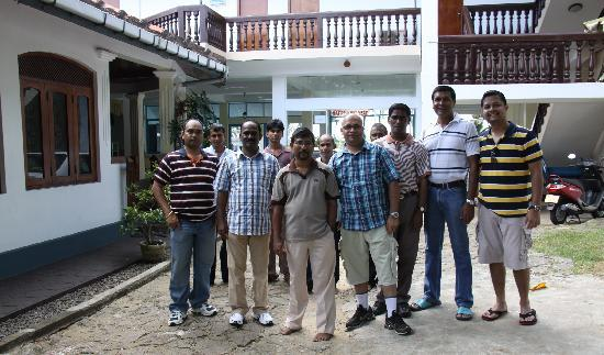 Hotel Ocean View Cottage: With Owner and Staff