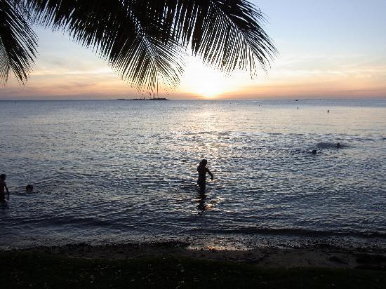 Anse Vata Beach: アンスバタビーチより