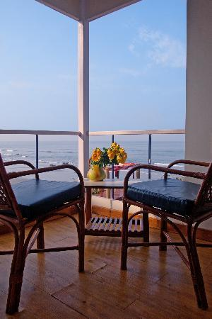 Pernem, India: Romance it up with private balcony