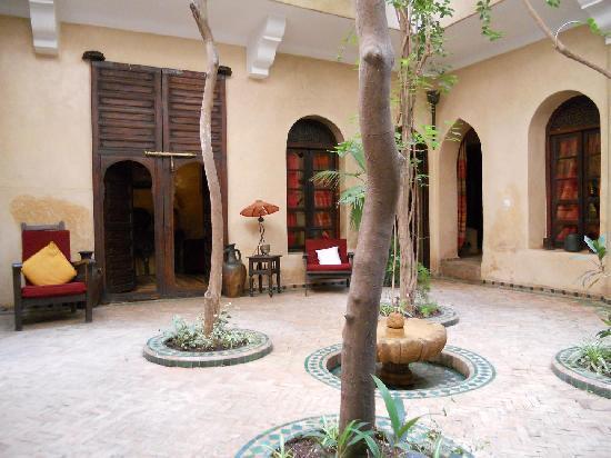 Riad Dama : Entrance