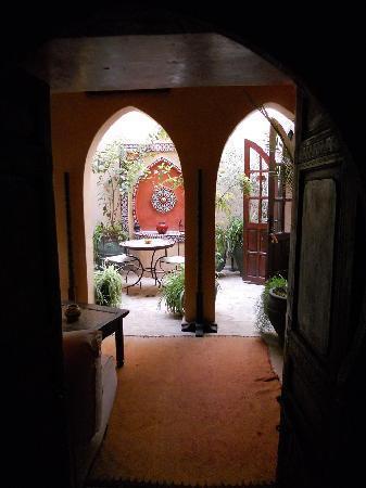 Riad Dama : breakfast room for 2