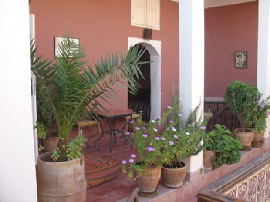 Marhbabikoum: la terrasse