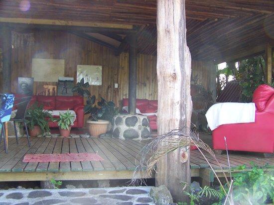 Pension Chez Tita et Lionel: Terrasse