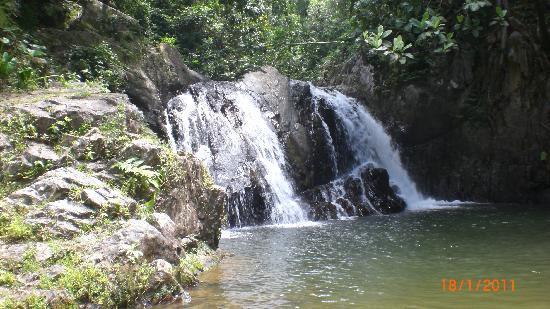 Naviti Resort: Water fall
