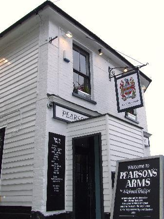 Pearson's Arms Restaurant: The Pearson's Arms by Richard Phillips