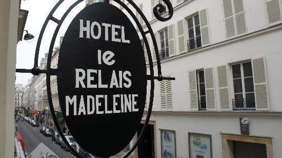 Le Relais Madeleine: view from my window