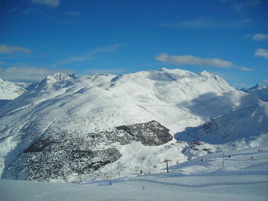 Livigno, Italia: Vista dal Mottolino verso Trepalle