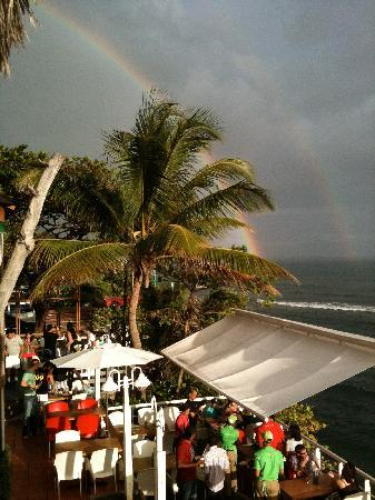 Adrian Tropical: reinbow coming after rain