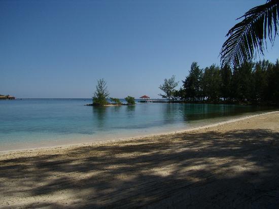 Fantasy Island Beach Resort: Vista desde de la habitación, Hotel F.I.