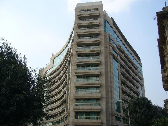 Kempinski Nile Hotel Cairo: Hotel Back Side