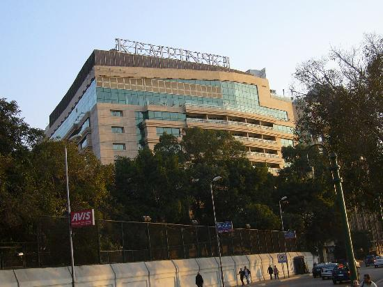 Kempinski Nile Hotel Cairo: Hotel Front Side