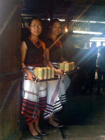 Kigwema girls - Kohima Nagaland