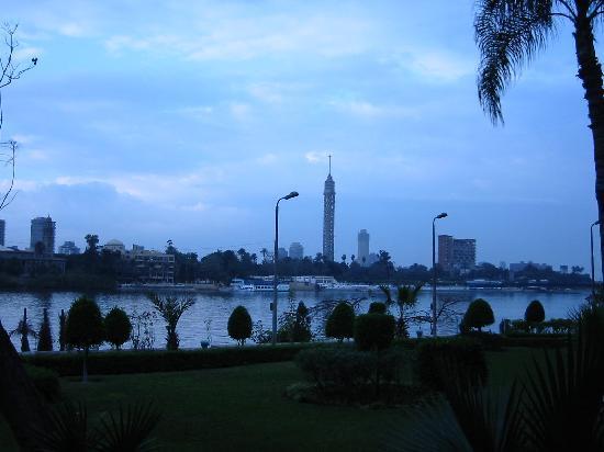 Cairo, Egypt: An der Corniche am NIl