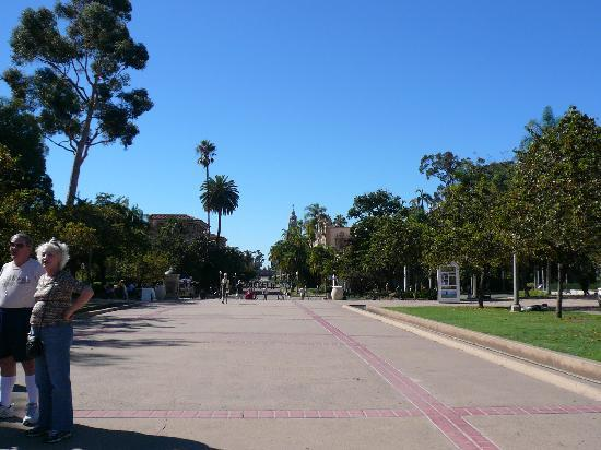 Old Town San Diego State Historic Park: 広々してます