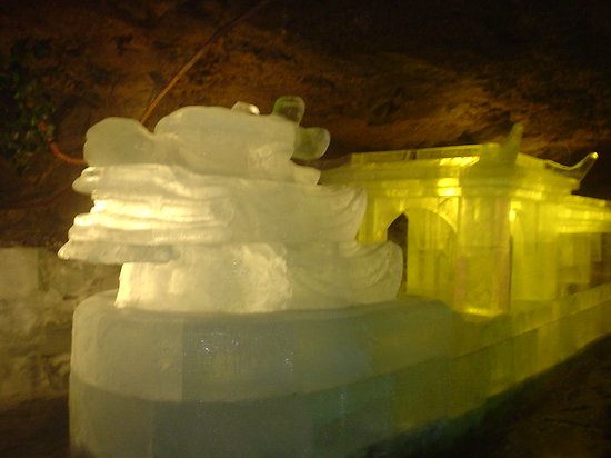 Wudalianchi, Κίνα: ice carving