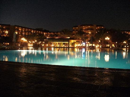 Garten Mit Pool garten mit pool bei nacht picture of siva grand hotel