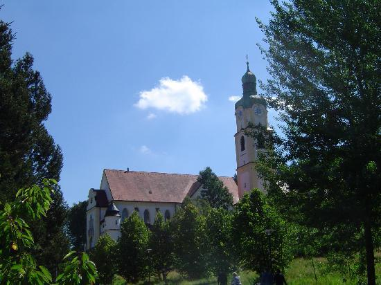 Bavarian Forest Holidays: Bayerisch Eisenstein church