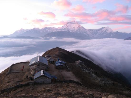 Annapurna Region, Nepal: Poor visibility :-)