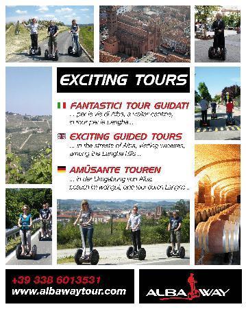 Alba, إيطاليا: Con i Tour organizzati Albaway potrete provare un'esperienza fantastica e dinamica che vi farà s