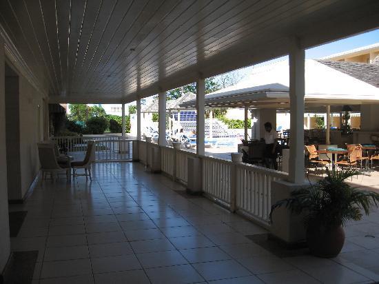 Village Inn & Spa at Rodney Bay : Hotel View