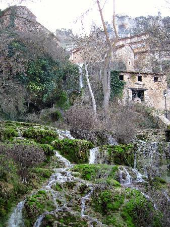 Orbaneja Del Castillo Mapa.Waterfall Below The Village Picture Of Cascada De Orbaneja